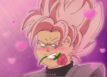 Goku Black's Valentine for you by SupremeKhi