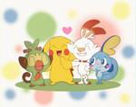 Pikachu's New Friends