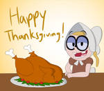 Happy Thanksgiving, from Bessie by SupremeKhi
