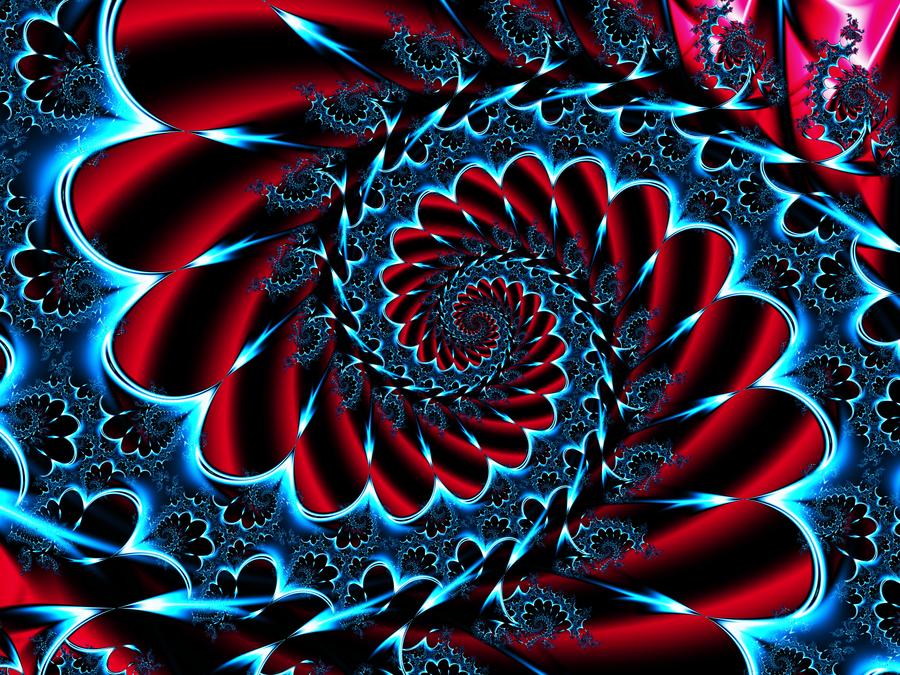 Spiral Flower Garden by DennisBoots