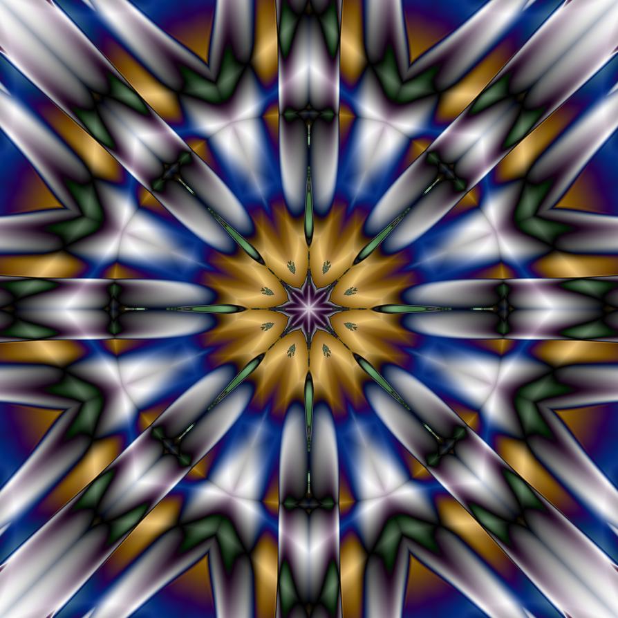 Mandala Design 10 by DennisBoots