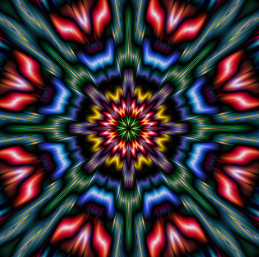 Mandala Design 11 by DennisBoots