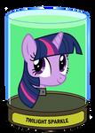 Twilight Sparkle Head in a jar