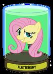 Fluttershy Head in a jar