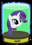 Rarity head in a jar