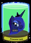 Princess Luna Head in a jar