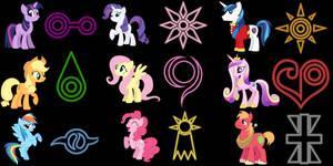 My little Pony crests