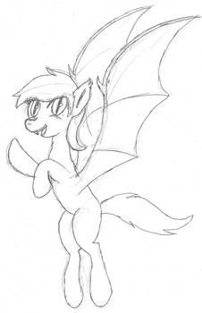 Random bat pony