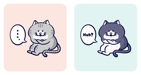 Bossy cat