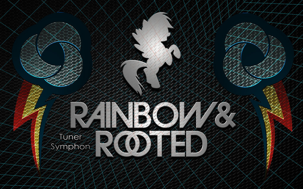 Rainbow and Rooted Background [w/ Tuner Symphon] by dragon51116