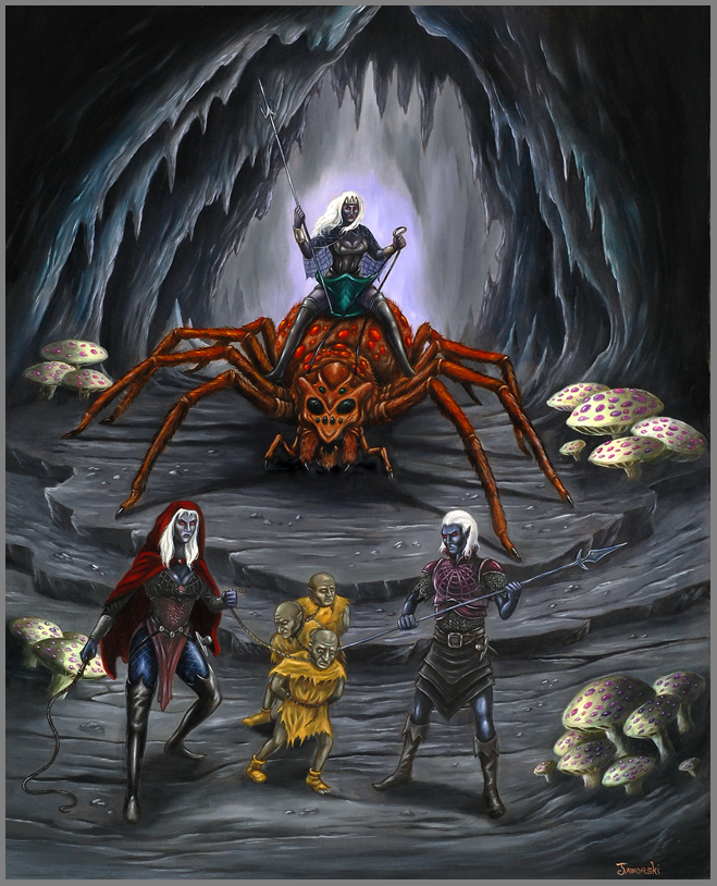 Prisoners of the Drow by Neothera