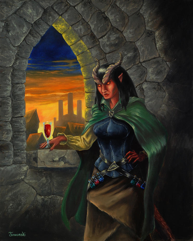 The Tiefling by Neothera