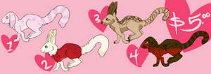 Valentine Bunny-Lemur Adopts
