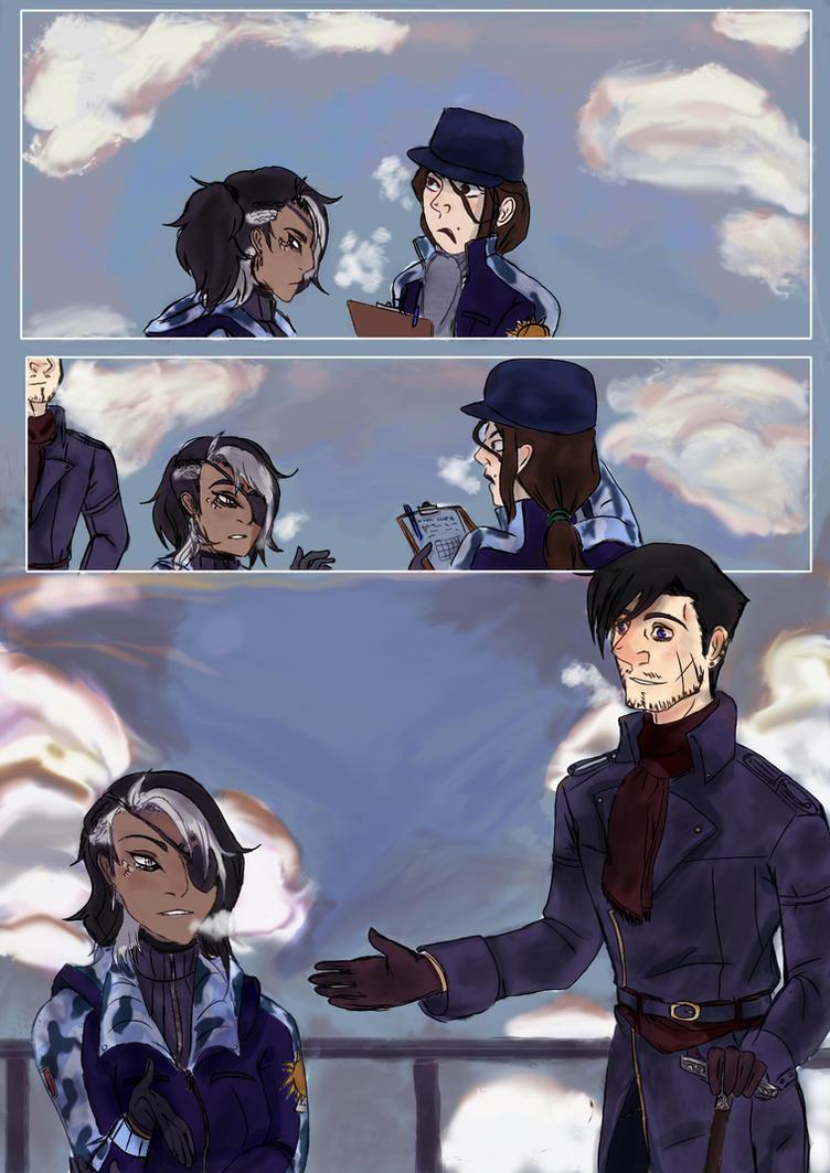 Suicide visuel (comic page test) by Ryutora-MC
