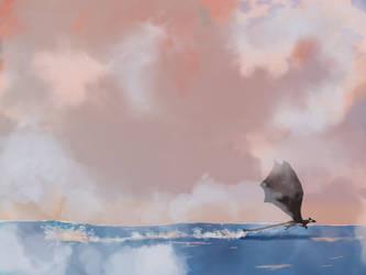 Beyond the sea by Ryutora-MC