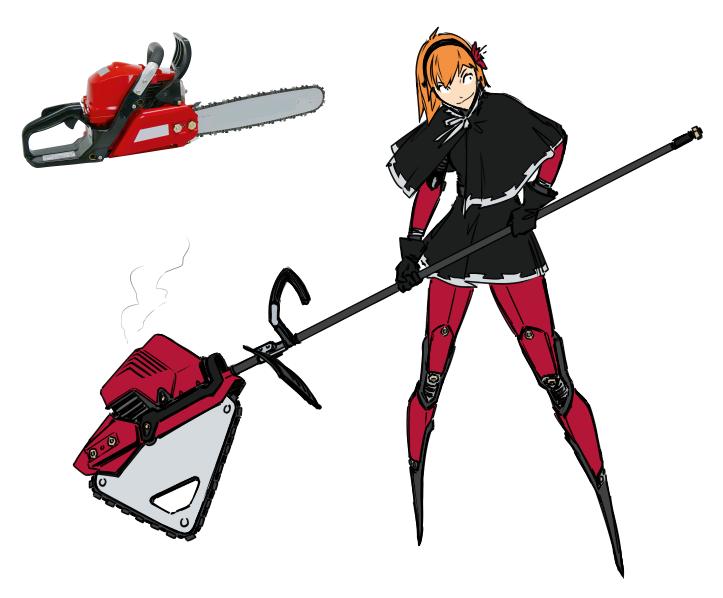 Chainsaw by M-10ka