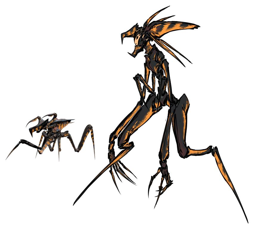 Arachnid Warrior by M-10ka