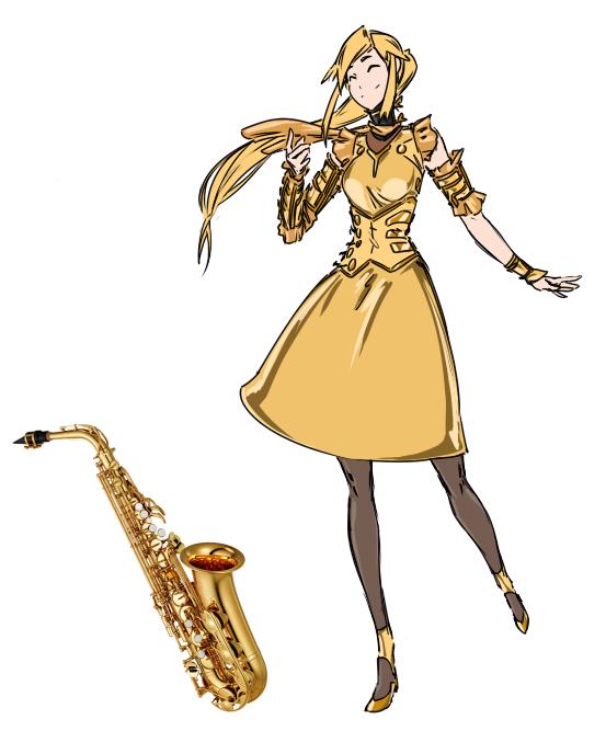 Saxophone by M-10ka