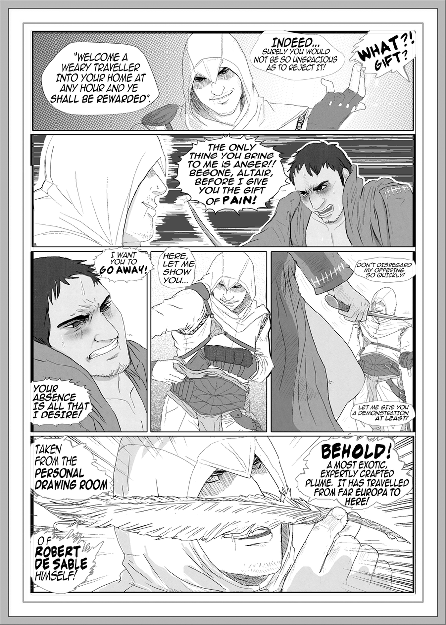 AC: AltMal Doujin sample pg4 by massive-destruction