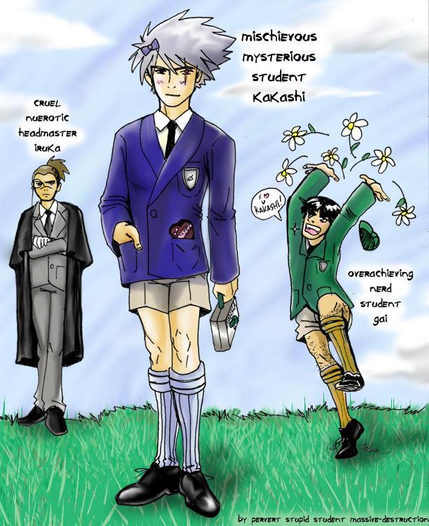 IruKakaGai- Brit School Boys by massive-destruction