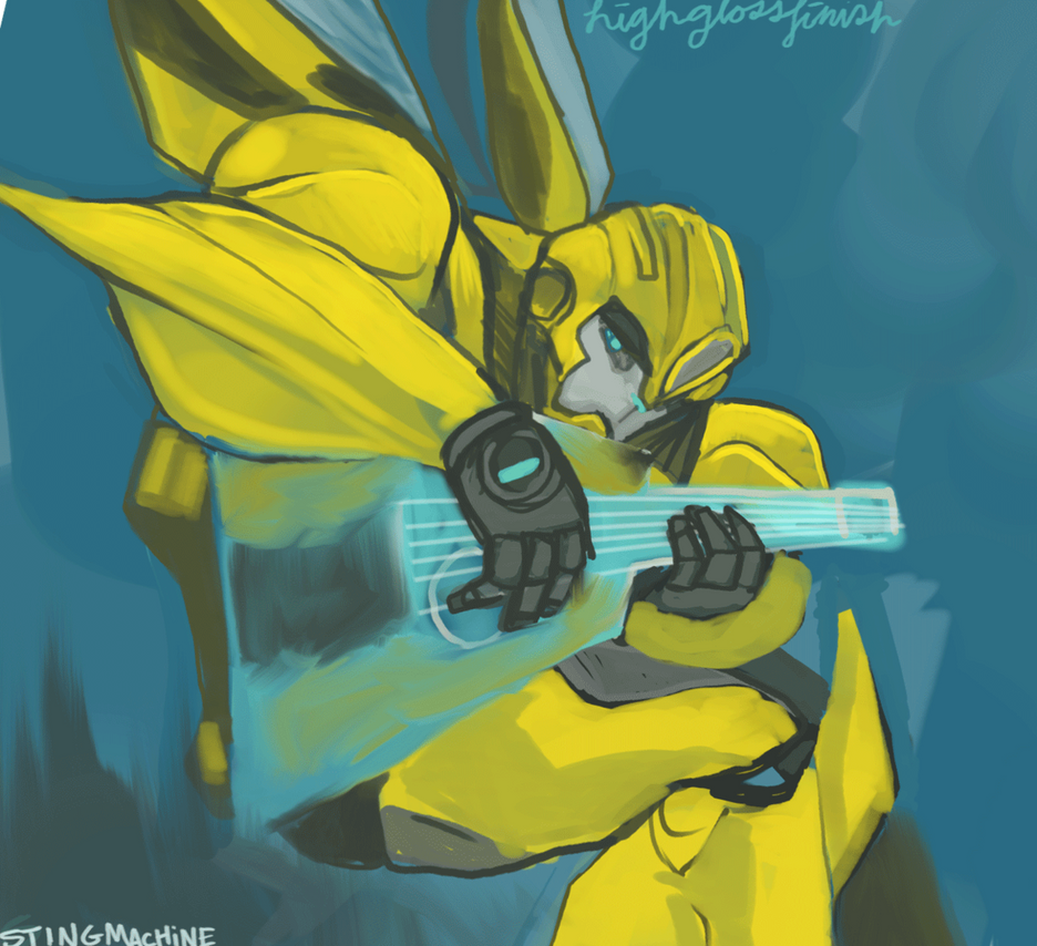 Transformers Prime - Bumblebee's Song by massive-destruction