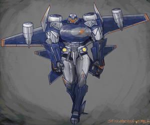 Transformers Prime Seeker!Breakdown