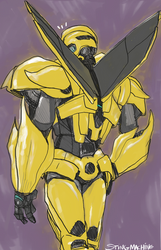 Transformers Prime Bumblebee's Back