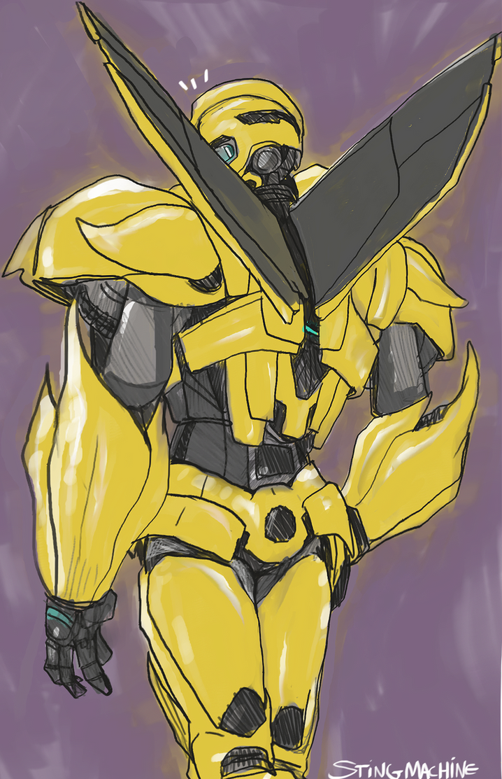 Transformers Prime Bumblebee's Back by massive-destruction