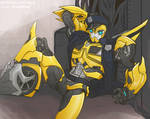 Transformers Prime Police Bumblebee 2