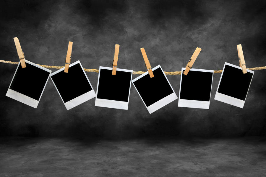 Hanging Polaroids By Anushka04 On Deviantart