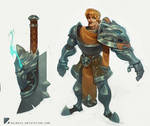 Wolf knight concept