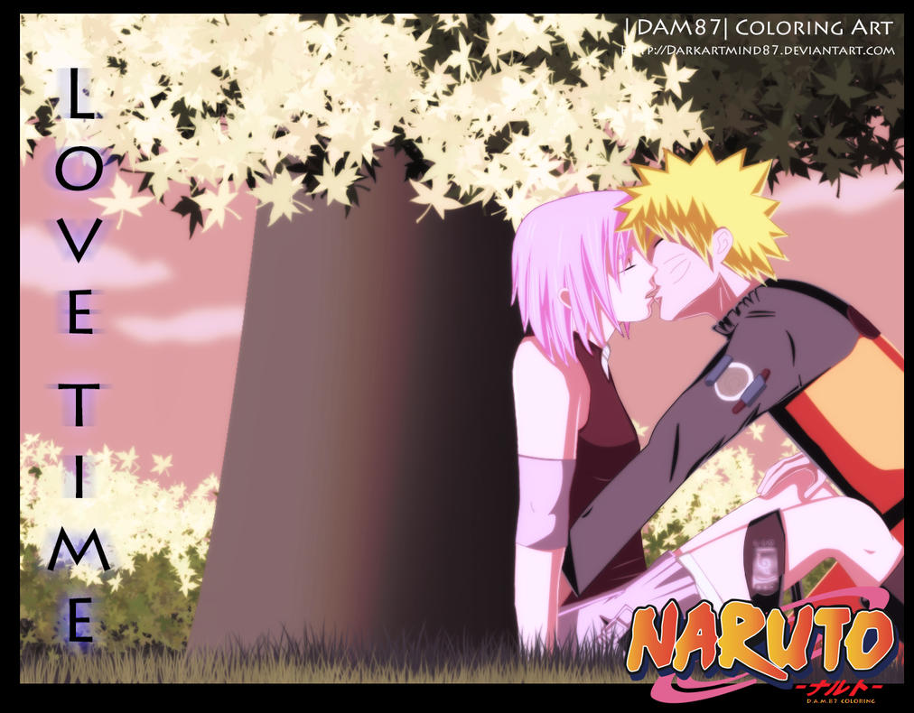 Love time Naruto X Sakura by Darkartmind87