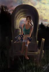 Lara Croft's adventures in the Wild West by Amanda-Lara1996
