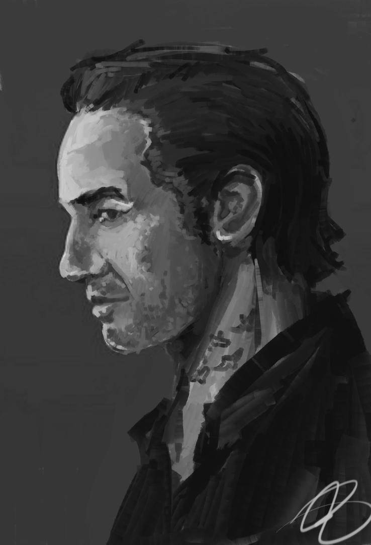 Sam Drake - Uncharted 4 study by Amanda-Lara1996