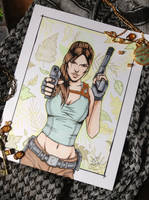 Something Shiny - Lara Croft Tomb Raider by Amanda-Lara1996