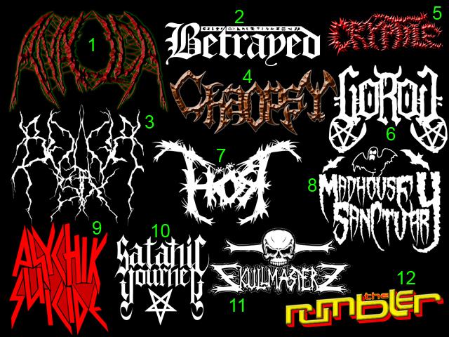 Black- Death Metal Logos again by TommyRangg on deviantART