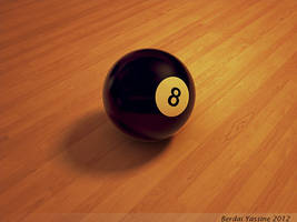 8 ball by Be-A-Painter