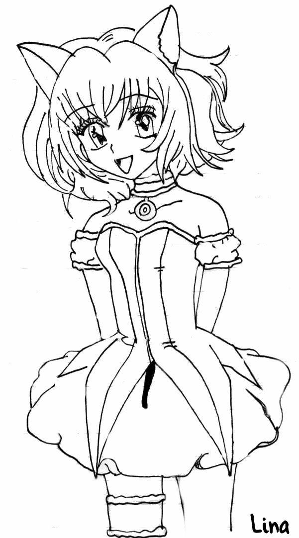 tokyo mew ichigo coloring pages - photo#10