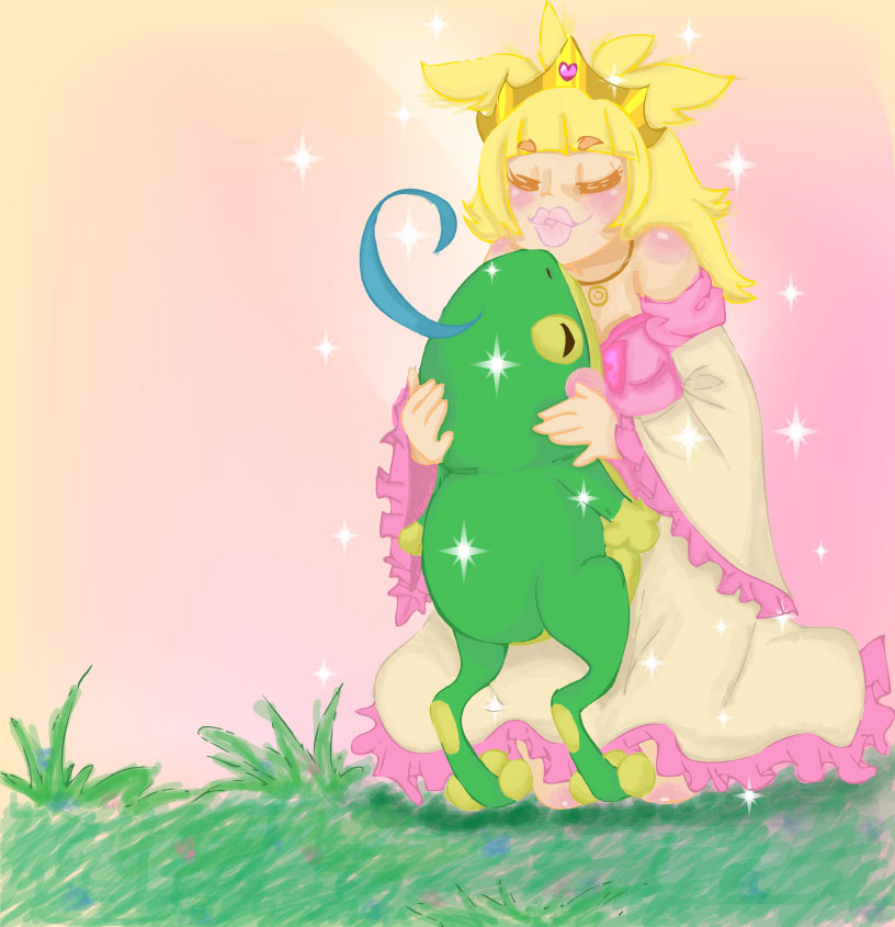 Pokemon Fairytale: The Princess and the Frog by phoeniqx