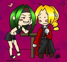 Ed and Envy Chibi Doodle