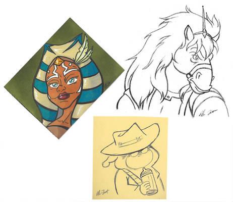 Sketch Dump Sunday 9-25-16