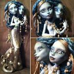 Siamese Sirens: Custom Monster High Doll