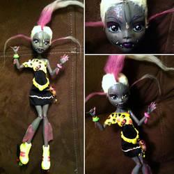 Monster High Custom: Angie Angler
