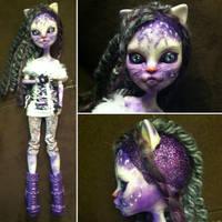 Monster High Custom: Snow Leopard