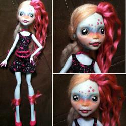 Monster High Custom: Tiete Tetra