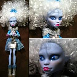 Monster High Custom: Abby Bominable