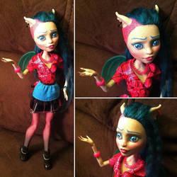 Monster High Custom: Roxie Gargoyle