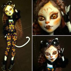 Monster High Custom: Calico Cat