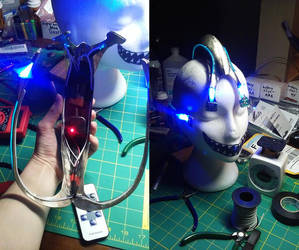 Cyberpunk Halo