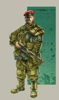 Mercenario-Angola 2025 by Lebbeus